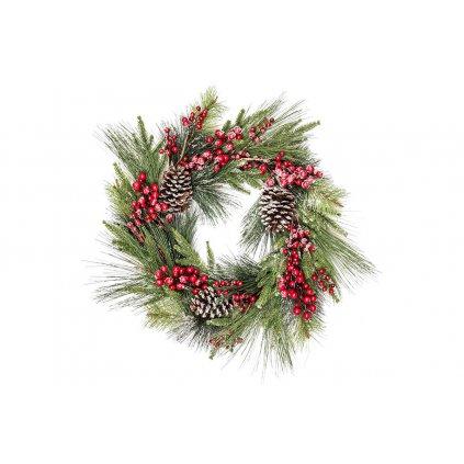 Vianočný veniec dekorácia 60 x18cm