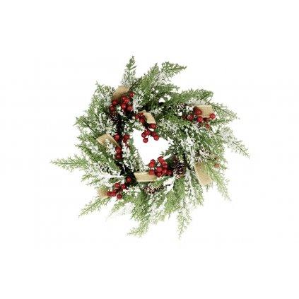 Vianočný veniec  vianočná dekorácia 40cm