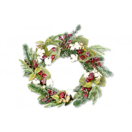 Vianočný veniec dekorácia 56cm