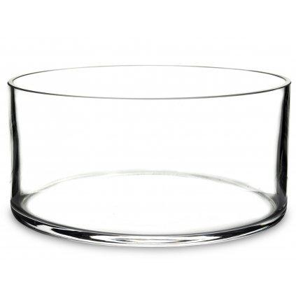 sklenená misa okrúhla 10x20,5x20,5cm