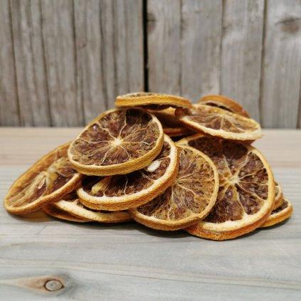 sušený pomaranč plátok voňavá dekorácia 4,5cm