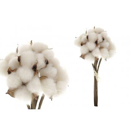 vetvička bavlna biela 16x26x16cm