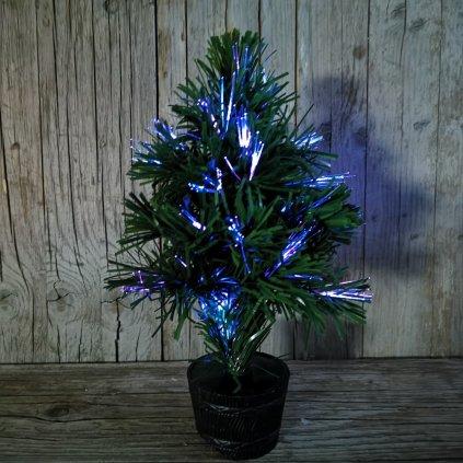 vianočný umelý stromček svietiaci na baterky 33cm
