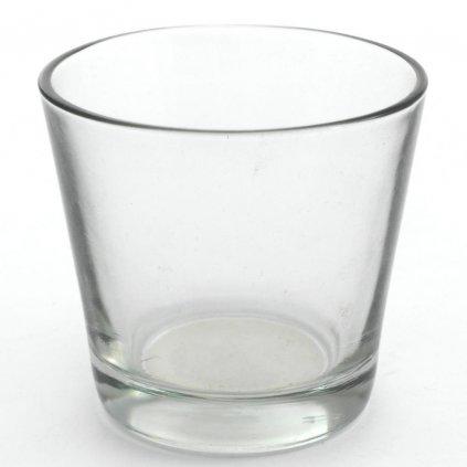 Sklený pohár pod sviečku 8,8x8,1CM