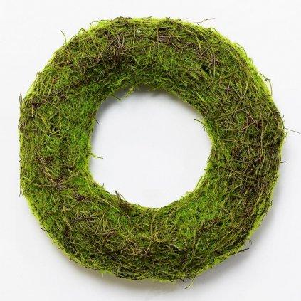 VENIEC PRÚTIE machový Zelený prírodný 25CM