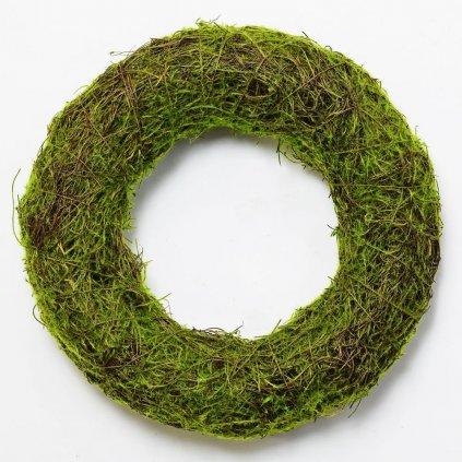 VENIEC Prútený machový Zelený prírodný 35CM