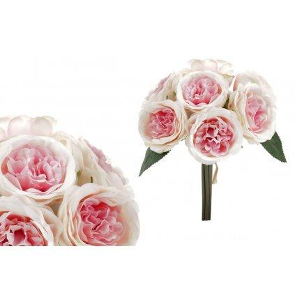 kytica ruží, farba ružová 18x27x18cm