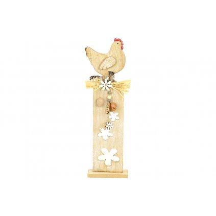Sliepočka, drevená dekorácia na podstavci 17X57.5CM