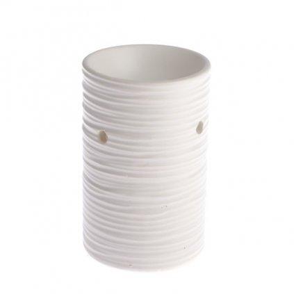 aromalampa Keramická biela 8×12,5×8cm