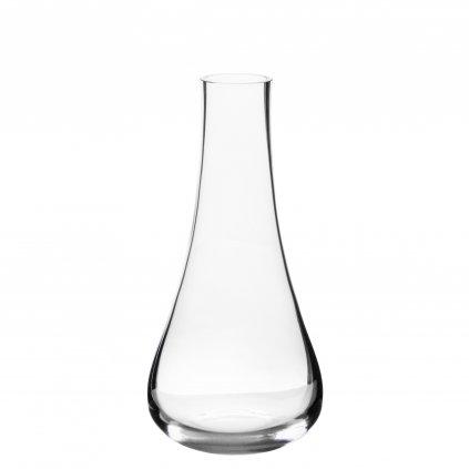váza sklenená široké dno 22x10,5x10,5cm   130320