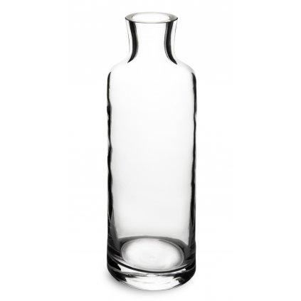 váza priehľadne sklo /karafa 26x8,5x8,5cm 137992