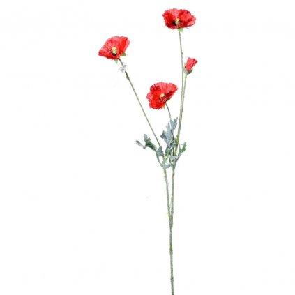 MAK ČERVENÝ umelý kvet