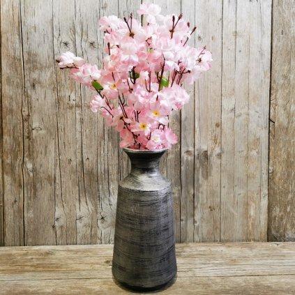 čerešňa ružová umelý kvet 56cm