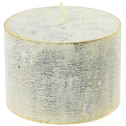 sviečka valec RUSTIC LOFT 100/70 KREM