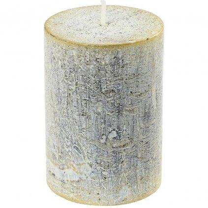 sviečka valec RUSTIC LOFT 70/100 KREM