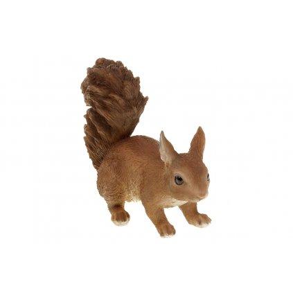 Veverička,polyresin,19x13x10cm