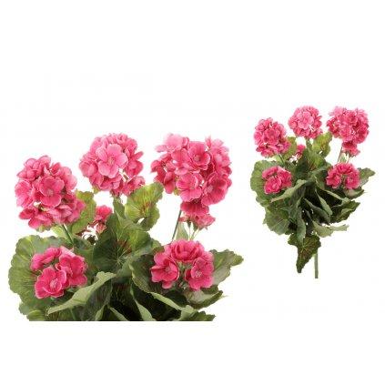 Muškát umelá kytica ružová,40cm