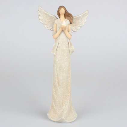 Anjel s holubicou,14x30,5x7,5cm