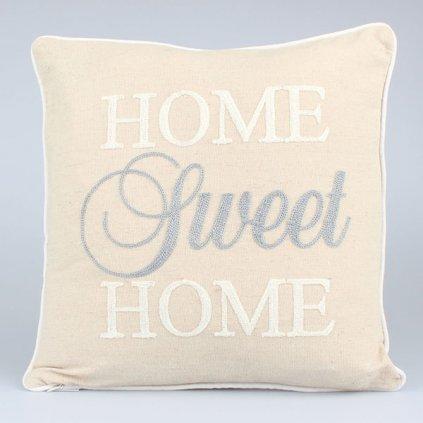 Obliečka na vankúš Home Sweet Home,40x40cm