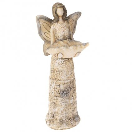 Keramické pítko anjel,14,2x37,2x11,6cm