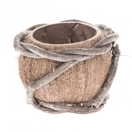 Kokosový kvetináč,13x11x13cm
