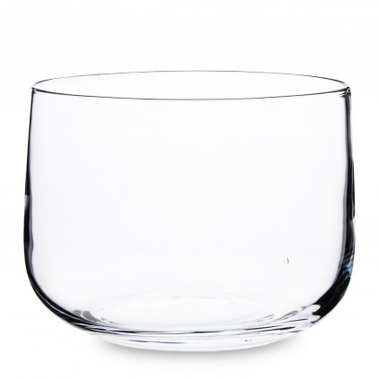 Sklenená váza priehľadná okrúhla 16x20,5x20,5cm