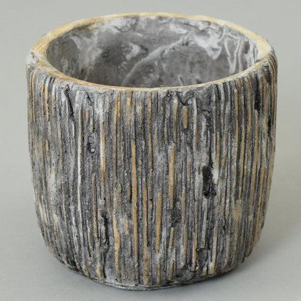 Obal kameň valec 15,5x15,5x15 cm