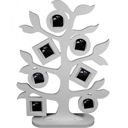 Fotorámik stromček biely 43x32cm 81142