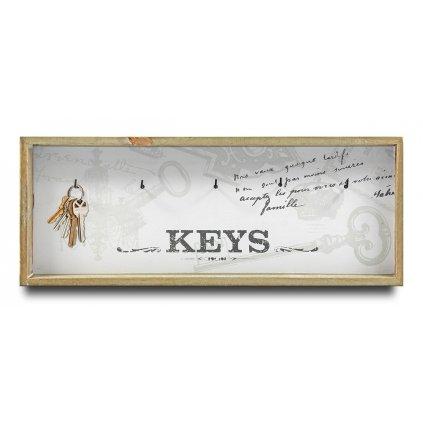 Vešiak na kľúče Keys 16x41x3,5 102011