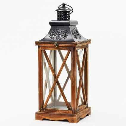 LAMPÁŠ drevený hnedý  20X20X53CM