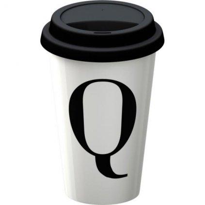 Cestovný hrnček Q porcelánový 9x9x15cm