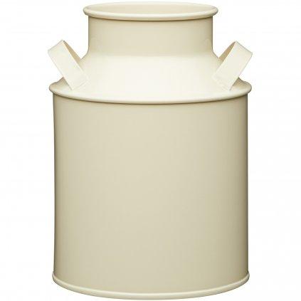Plechová kanvica na mlieko Living Nostalgia 13x13x18cm