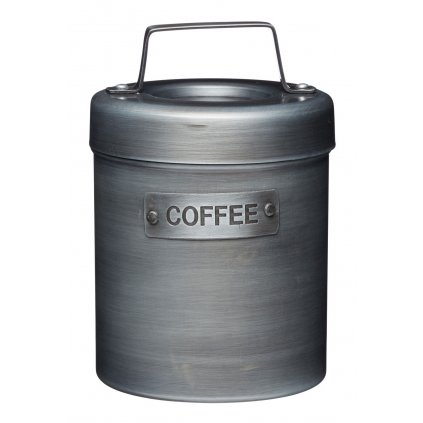 Kovová dóza na kávu Industrial Kitchen 10x10x15,5cm