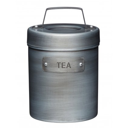 Kovová dóza na čaj Industrial Kitchen 10x10x15,5cm