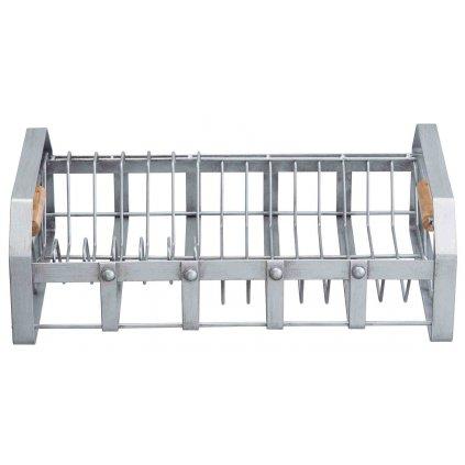 Kovový odkvapkávač na riad Industrial Kitchen 40x24,5x13cm