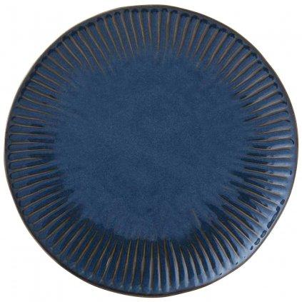 Porcelánový jídelní talíř Gallery Blue