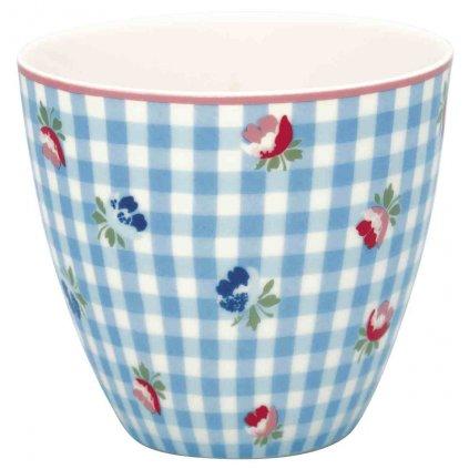 Porcelánový hrnček na latté Viola Pale Blue 9x10cm 300ml