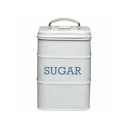 Plechová dóza na cukor Living Nostalgia 11x17x11cm