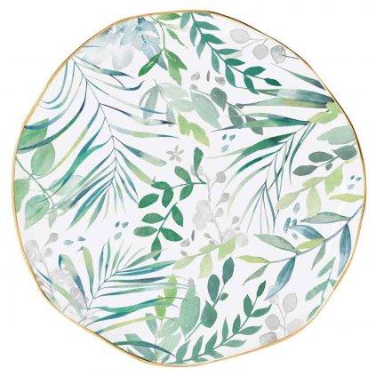 Porcelánový talířek Amazonia Green