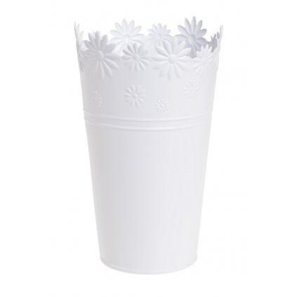 váza biela kvietky