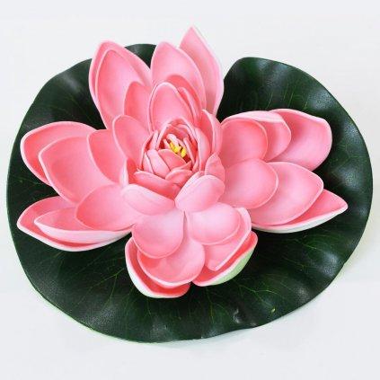 LEKNO umelé DO JAZIERKA  ružové 18CM