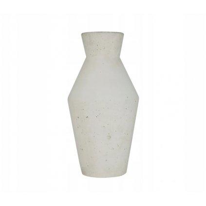 Dekoratívny džbán/váza- biela