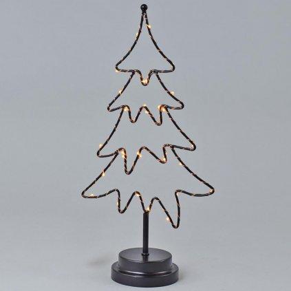 stromček s led svetielkami  18,5x9,5x39,5CM