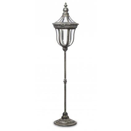 lampa stojaca kovová retro 112x24x24cm