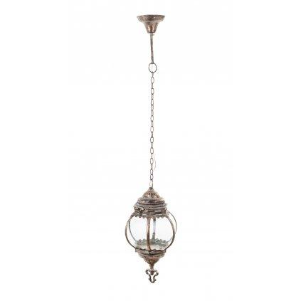 lampa kovová retro stropná 105x18x18cm