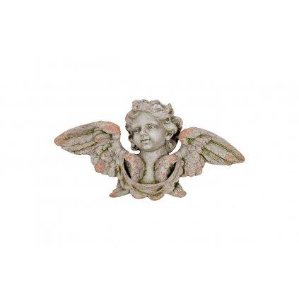 Anjel, dekorácia 91x20x46cm