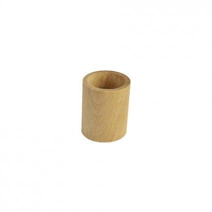 Drevený svietnik - okrúhly 097033