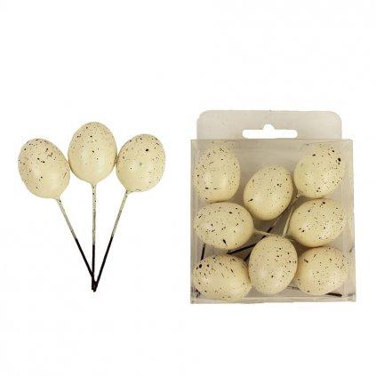 Dekoratívne vajcia, 8ks X1402