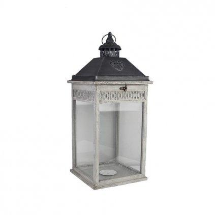 Drevený lampáš D3124/V