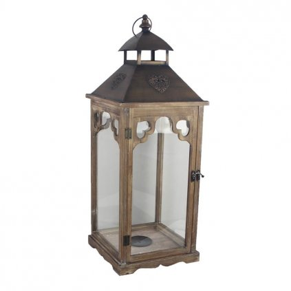 Drevený lampáš D3130/V